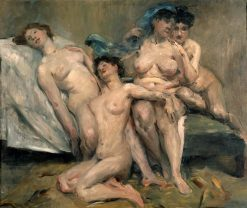 Group of Women | Lovis Corinth | Oil Painting