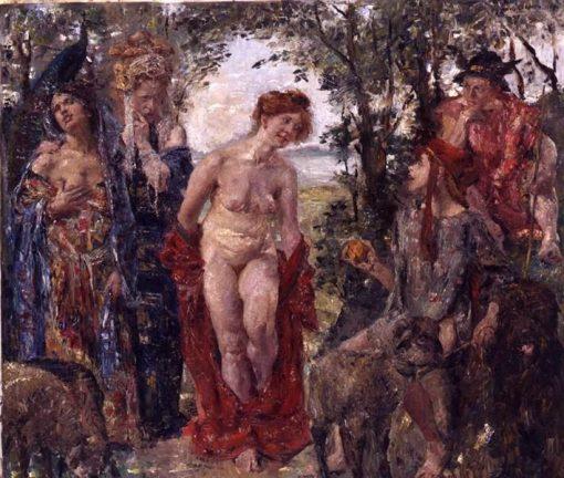 Judgement of Paris | Lovis Corinth | Oil Painting