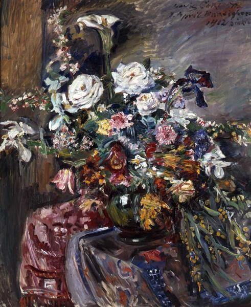 Bouquet (Flower Riviera) | Lovis Corinth | Oil Painting