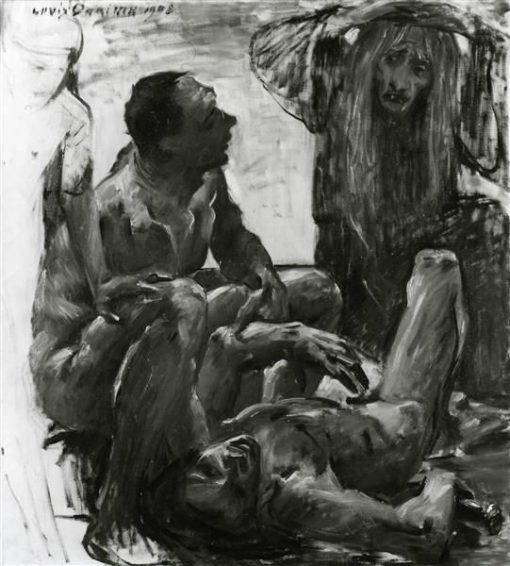 Study for Disasters of War | Lovis Corinth | Oil Painting