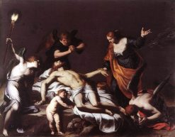 Lamentation over the Dead Christ | Alessandro Turchi | Oil Painting