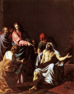 The Raising of Lazarus | Alessandro Turchi | Oil Painting