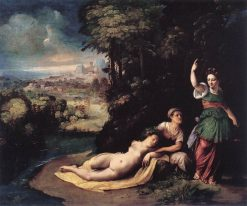 Diana and Calisto | Dosso Dossi | Oil Painting