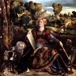 Melissa(also known as 'Circe') | Dosso Dossi | Oil Painting