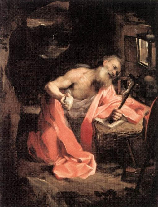 Saint Jerome | Federico Barocci | Oil Painting