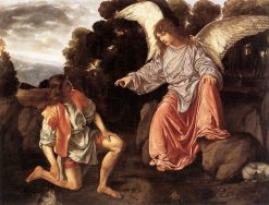 Tobias and the Angel | Giovanni Girolamo Savoldo | Oil Painting