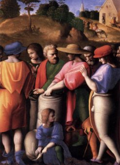 Scenes from The Story of Joseph: The Search for the Cup | Il Bacchiacca | Oil Painting