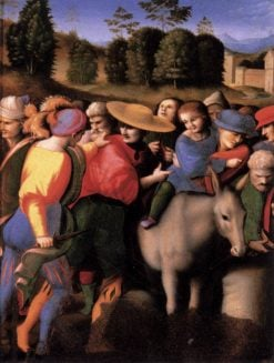 Scenes from The Story of Joseph: The Discovery of the Stolen Cup | Il Bacchiacca | Oil Painting