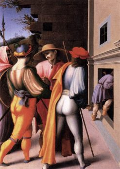 Scenes from The Story of Joseph: The Arrest of His Brethren | Il Bacchiacca | Oil Painting