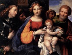 The Virgin and Child with Saints | Il Garofalo | Oil Painting