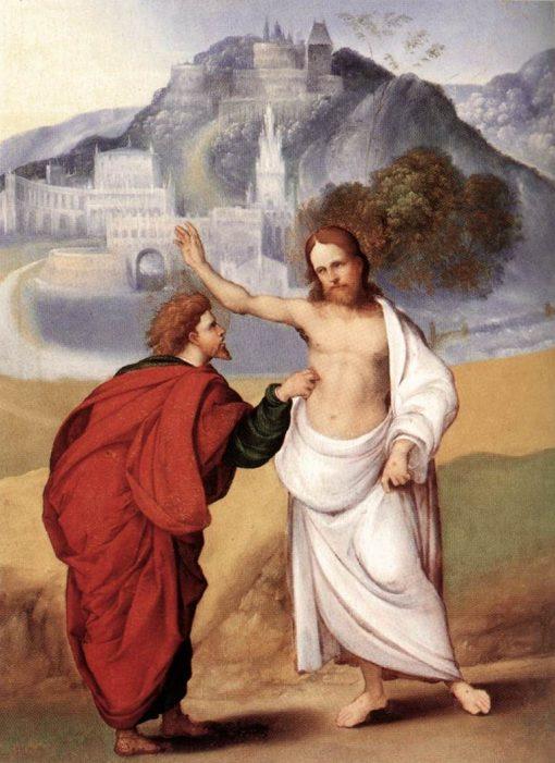 The Incredulity of Saint Thomas | Ludovico Mazzolino | Oil Painting