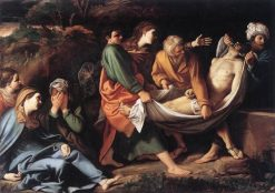 The Entombment of Christ | Sisto Badalocchio | Oil Painting