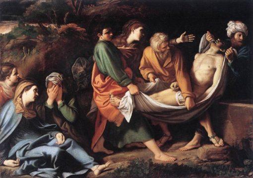 The Entombment of Christ | Sisto Badalocchio | Oil Painting