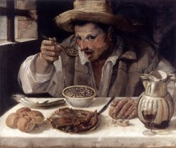 The Beaneater | Annibale Carracci | Oil Painting