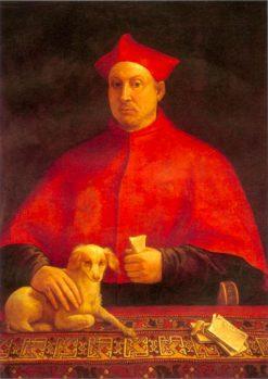 Portrait of Cardinal Pompeo Colonna | Sebastiano del Piombo | Oil Painting