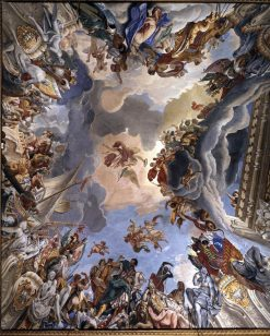 Allegory of Marcantonio Colonna's Victory at Lepanto | Sebastiano Ricci | Oil Painting
