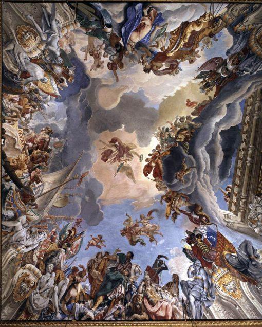 Allegory of Marcantonio Colonna's Victory at Lepanto | Sebastiano Ricci | Oil Painting