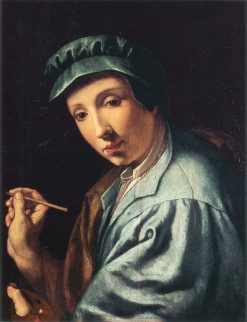 Self Portrait | Alessandro Allori | Oil Painting