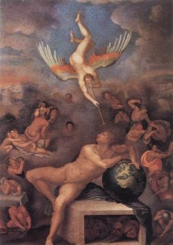 Allegory of Human Life | Alessandro Allori | Oil Painting
