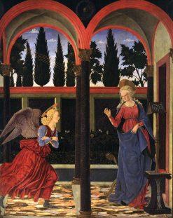 Annunciation | Alessio Baldovinetti | Oil Painting