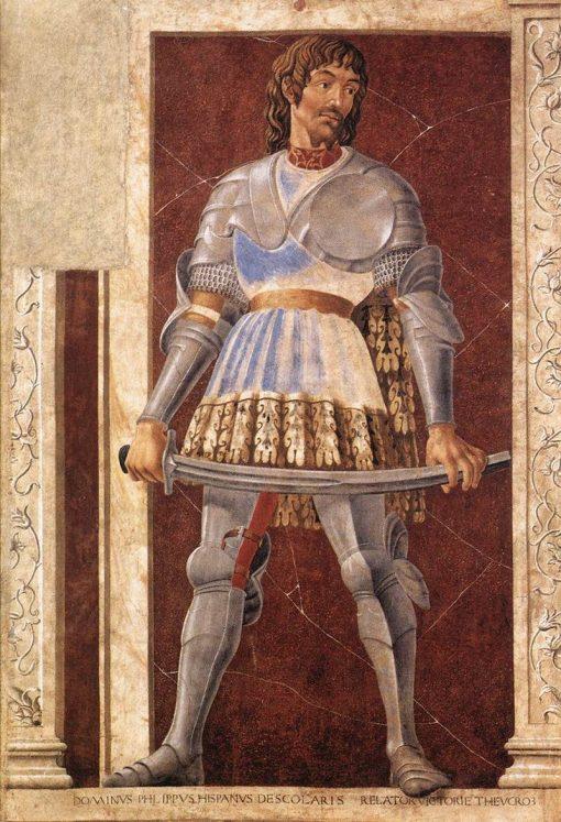 Famous Men ~ Pipo Spano | Andrea del Castagno | Oil Painting