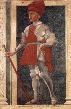 Famous Men ~ Farinata degli Uberti | Andrea del Castagno | Oil Painting