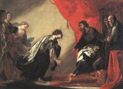 Esther and Ahaseurus | Bernardo Cavallino | Oil Painting