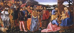 Adoration of the Magi | Cosimo Rosselli | Oil Painting