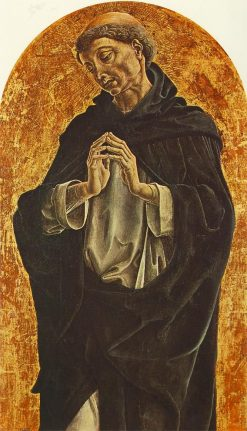 Saint Dominic | Cosme Tura | Oil Painting