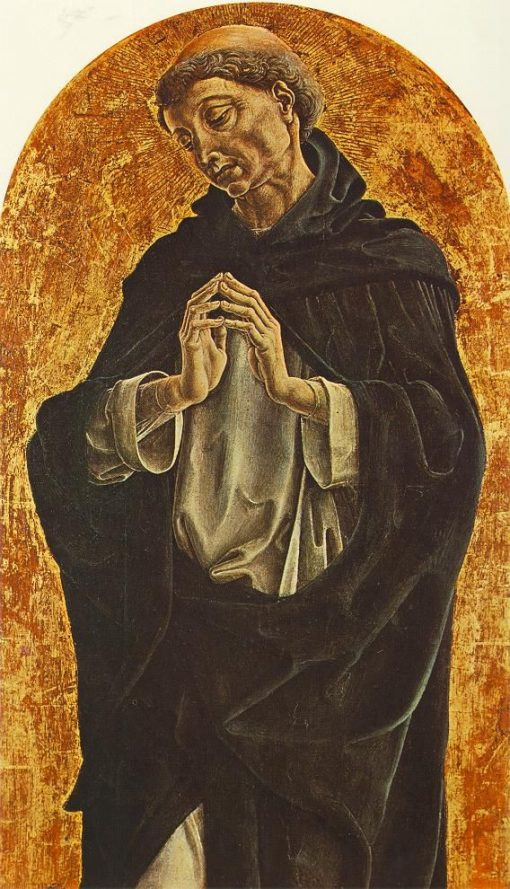 Saint Dominic | Cosme Tura | Oil Painting