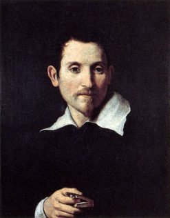 Portrait of Virginio Cesarini | Domenichino | Oil Painting