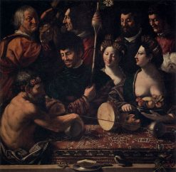 Allegory of Hercules | Dosso Dossi | Oil Painting