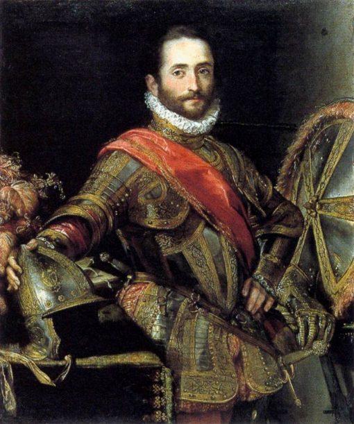 Portrait of Francesco Il della Rovere   Federico Barocci   Oil Painting