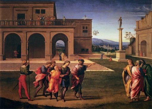 Joseph Conducted to Prison | Francesco Granacci | Oil Painting