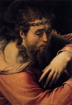 Christ Carrying the Cross | Francesco Salviati | Oil Painting