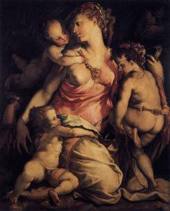 Charity | Francesco Salviati | Oil Painting