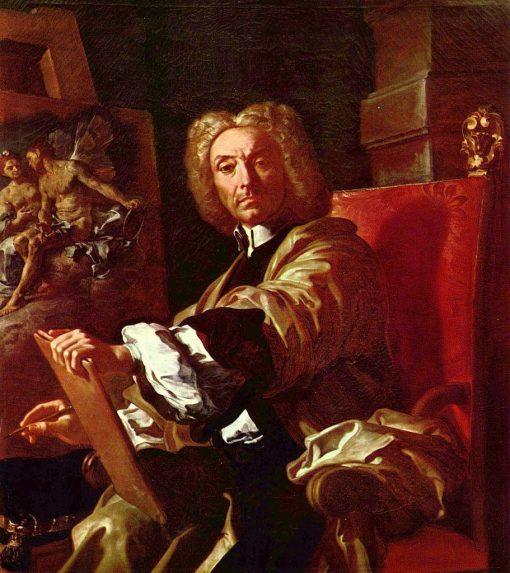 Self Portrait | Francesco Solimena | Oil Painting
