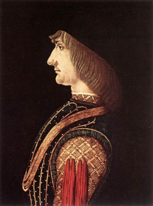 Portrait of a Man | Giovanni Ambrogio de Predis | Oil Painting