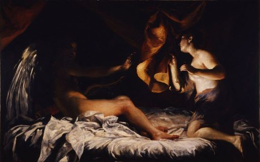 Cupid and Psyche | Giuseppe Maria Crespi | Oil Painting