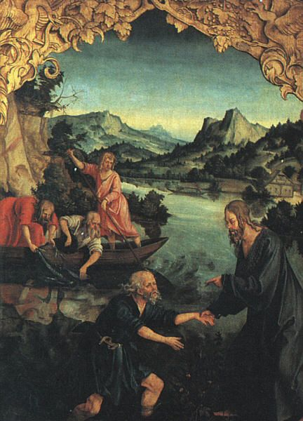 The Calling of Saint Peter | Hans Suss von Kulmbach | Oil Painting