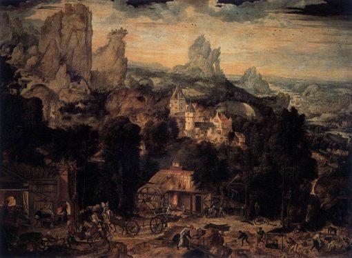 The Copper Mine | Herri met de Bles | Oil Painting