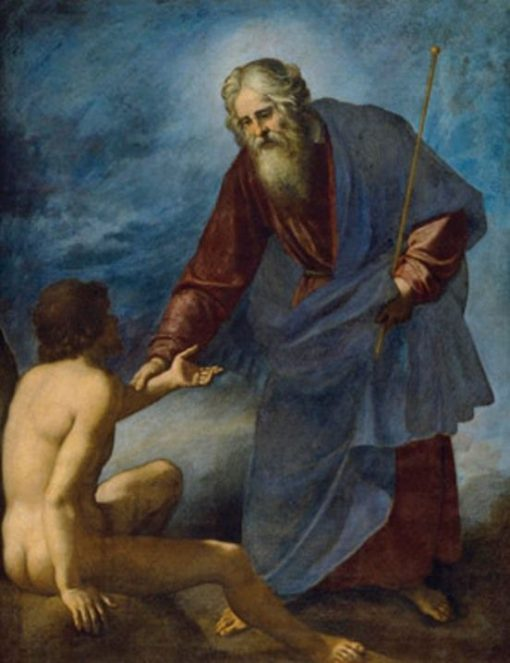 The Creation of Adam | Jacopo Chimenti | Oil Painting