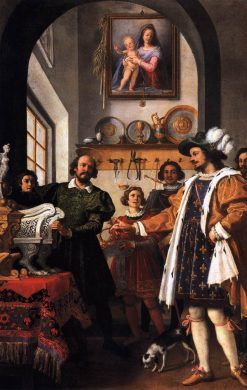 The Honesty of Eligius | Jacopo Chimenti | Oil Painting