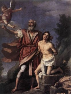 The Sacrifice of Isaac | Jacopo Chimenti | Oil Painting