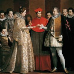 The Marriage of Marie de'Medici | Jacopo Chimenti | Oil Painting