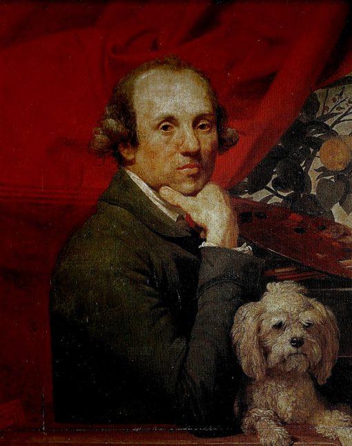 Self Portrait   Johann Zoffany   Oil Painting