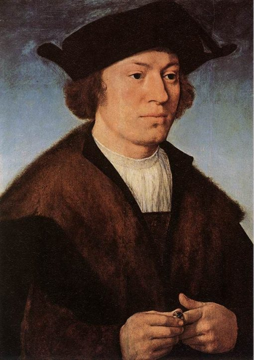 Portrait of a Man | Joos van Cleve | Oil Painting