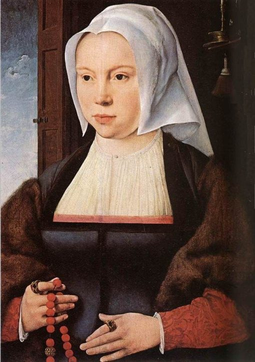 Portrait of a Woman | Joos van Cleve | Oil Painting