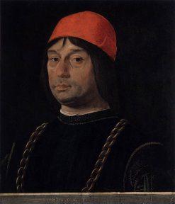 Portrait of Giovanni Il Bentivoglio | Lorenzo Costa | Oil Painting