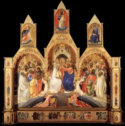 The Coronation of the Virgin | Lorenzo Monaco | Oil Painting